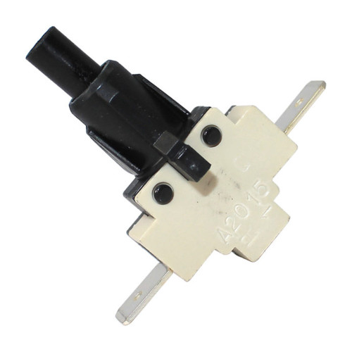 SPST Switch Mechanism - Momentary - Circular Press-fit - 240V - ASCASO MI.123