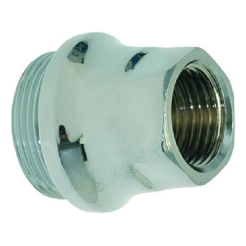 Cam holder fitting - e61 brewing group - M30x1 - Chromed - FAEMA 4152135911