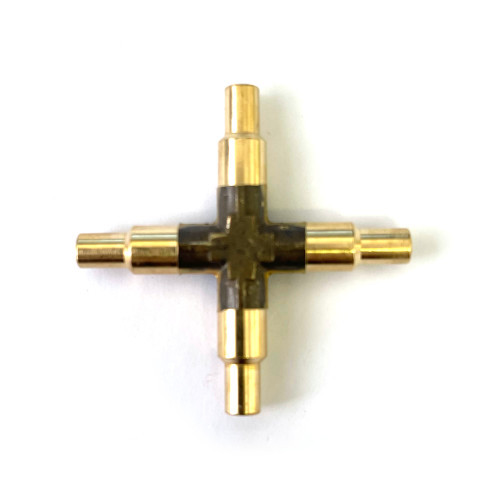 4-Way CROSS - fitting / connector - 5mm - LELIT 2200110