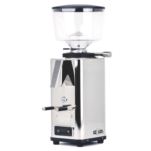 ECM S-Automatic 64mm Flat Burr Doser-less Coffee Grinder - STAINLESS STEEL