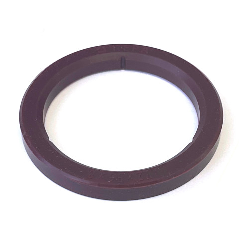 Group-Head Gasket Seal 72x56x8 mm - Internal Slits / Cuts - SILICONE - ASTORIA / WEGA 12217