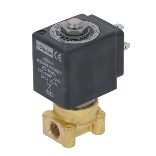 "2-Way Electric Solenoid Valve 1/8"" BSPF - 1/8"" BSPF - 240V - 9W - LUCIFER"