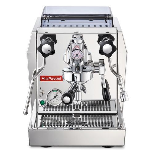 PAVONI GIOTTO PREMIUM e61 1.8L Espresso Coffee Machine  - EUREKA MIGNON SPECIALITA Coffee Grinder - CHROME - Package
