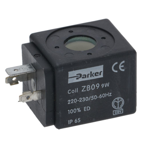 Solenoid Valve Coil PARKER ZB09 9W 230V 50/60Hz
