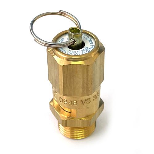 "Boiler Pressure Safety Release Valve - 2.5bar -  3/8"" BSPM - ECM P2536"