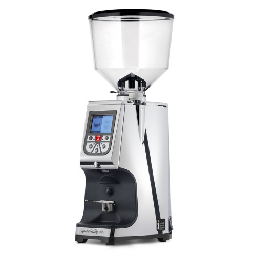 EUREKA ATOM 65mm Flat Burr Doser-less Coffee Grinder - V2 - CHROME