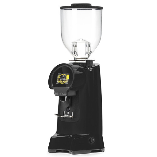 EUREKA HELIOS 65mm Flat Burr Doser-less Coffee Grinder - BLACK