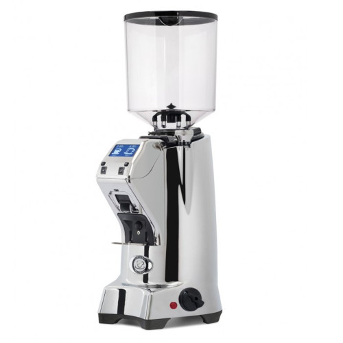 EUREKA ZENITH 65mm Flat Burr Doser-less Coffee Grinder - CHROME