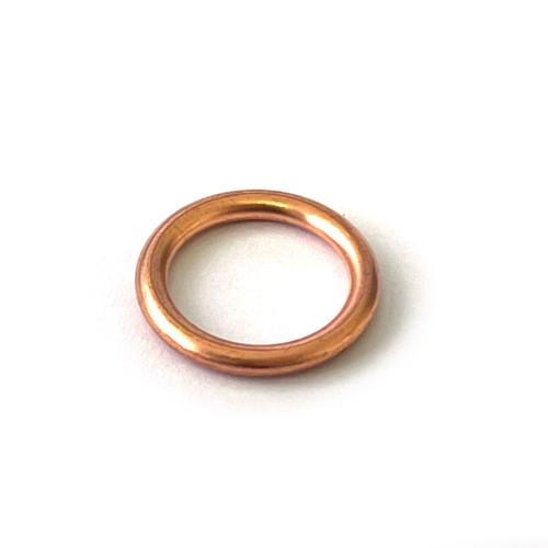 Round Copper Crush Gasket - 22mm x 16.5mm x 2.2mm