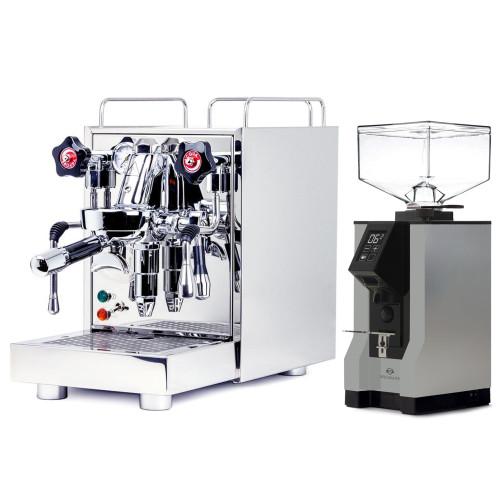 ECM MECHANIKA V SLIM e61 2.2L Espresso Coffee Machine - EUREKA MIGNON SPECIALITA Coffee Grinder - GREY - Package