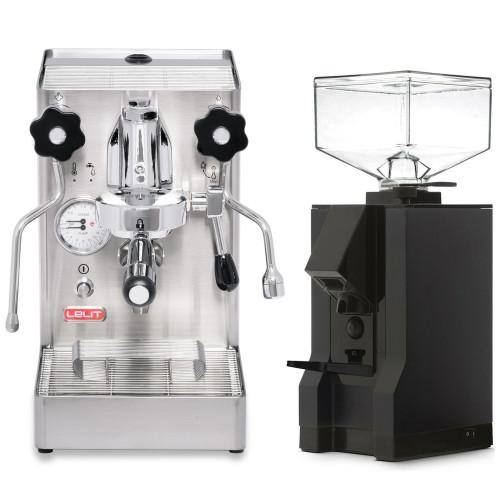 LELIT PL62X MARA X e61 1.8L Espresso Coffee Machine - EUREKA MIGNON MANUALE Coffee Grinder - Package