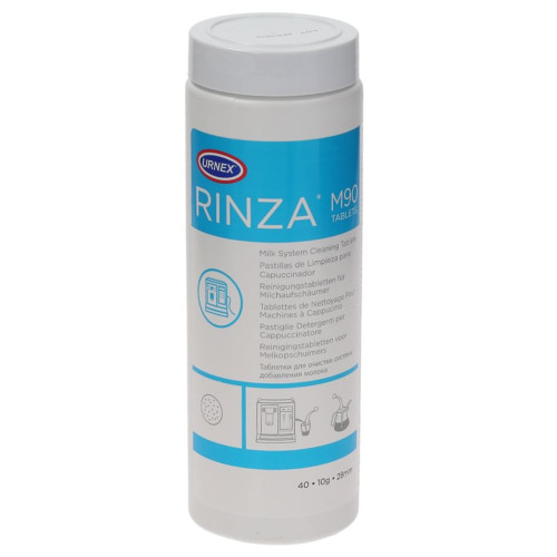 URNEX RINZA M90 Milk System Cleaning Tablets - 40 x 10g