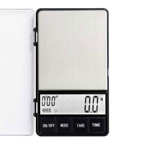 EDO Digital Pocket Coffee Scale - Timer - Max 1000g - Precision 0.1g