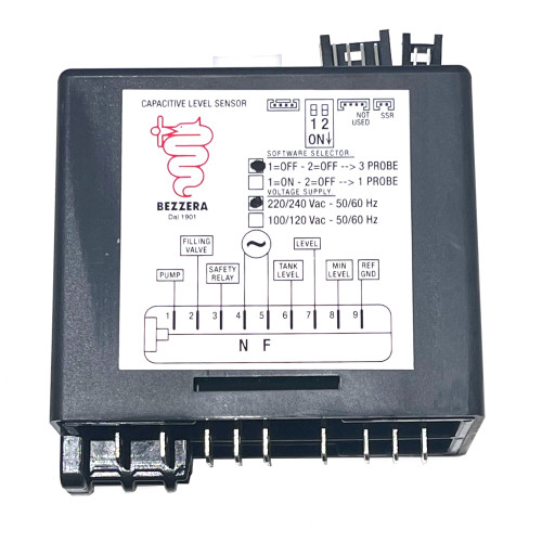 Control Box - Water Level Auto-fill Regulator - 220-240Vac - BEZZERA 7661043.02MI