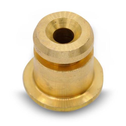 Water Tank Fitting - 14.5mm x 25mm - 10mm Thread - BRASS - BEZZERA 5224617AL
