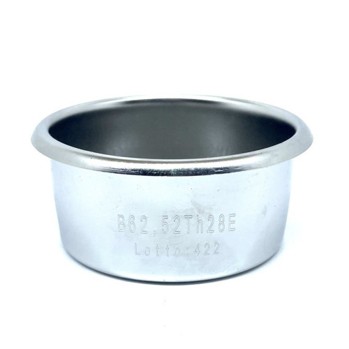Coffee filter basket 2 CUP Double - 54mm - 62.5mm x 24.2mm - PRECISION - BREVILLE - IMS B62.52TH24E