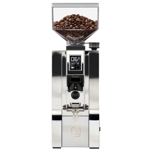 EUREKA ORO MIGNON XL 65mm Flat Burr Doser-less Coffee Grinder - CHROME