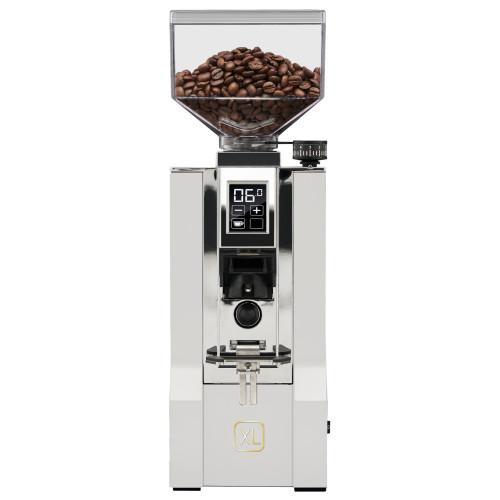 EUREKA ORO MIGNON XL 65mm Flat Burr Doser-less Coffee Grinder - WHITE