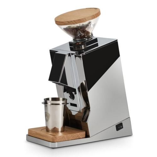 EUREKA ORO MIGNON SINGLE DOSE 65mm Flat Burr Doser-less Coffee Grinder - CHROME