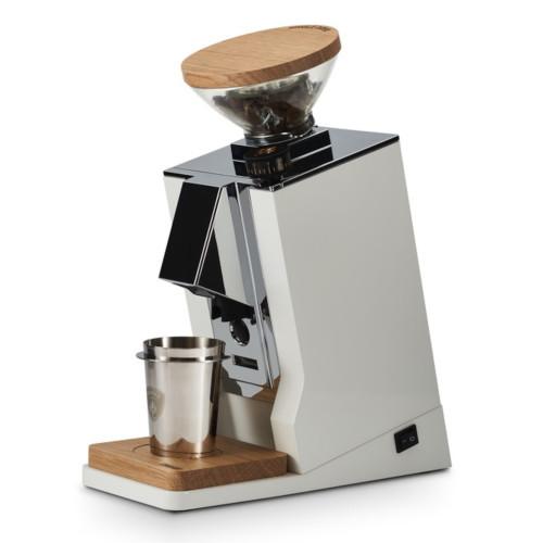 EUREKA ORO MIGNON SINGLE DOSE 65mm Flat Burr Doser-less Coffee Grinder - WHITE