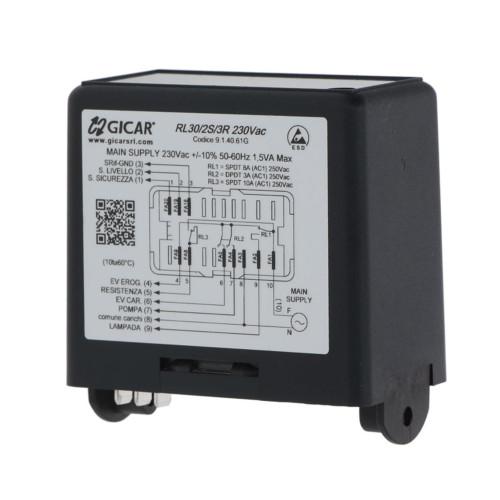 Control Box - Water Level Auto-fill Regulator - RL30/2S/3R - GICAR 9.1.40.61G