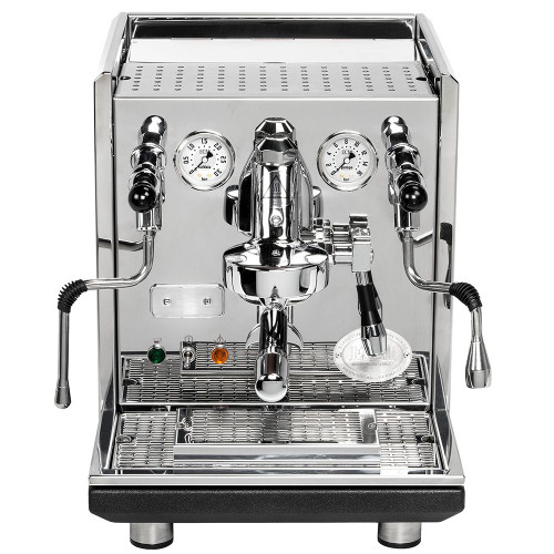 ECM SYNCHRONIKA e61 Double Boiler PID 0.75/2L Espresso Coffee Machine - V3 - STAINLESS STEEL - EUREKA MIGNON SPECIALITA Coffee Grinder - BLACK - Package