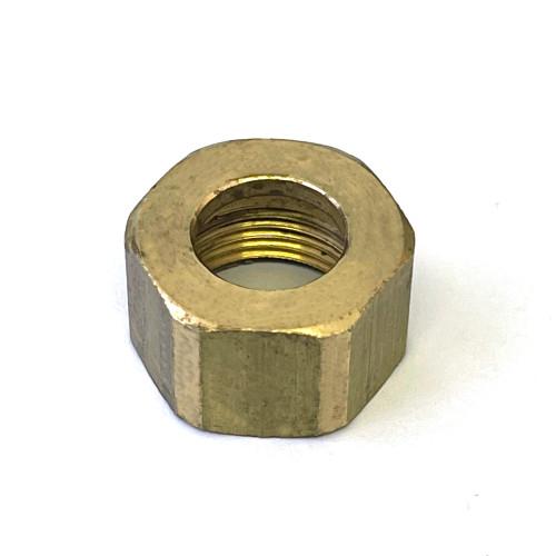 Sightglass retaining nut - Hex 23mm - M19 x 1.5mm thread - PAVONI 313303