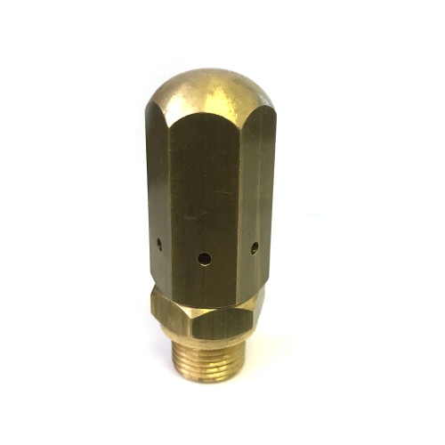 Boiler Pressure Release Safety Valve + Anti-vacuum - M12 Hex Body 16mm Brass - PUB - PAVONI