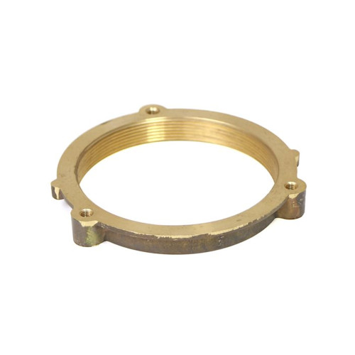 Threaded boiler locking ring - OD 95.5mm - ID 78mm - BRASS - PAVONI