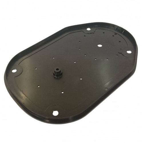 Black Plastic Base Plate Cover - New Style (Screw from underneath) - PAVONI Europiccola
