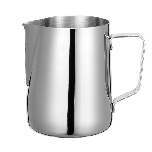 Milk Steaming / Frothing Jug - Stainless Steel - with Spout - 600mL