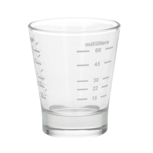 Espresso Measuring Glass 30ml 60ml