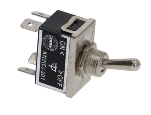 Lever Switch ON-OFF DPST 10A 250V Hole OD12mm