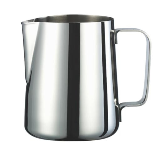 Milk Steaming / Frothing Jug - with Spout - STAINLESS STEEL - 1000mL