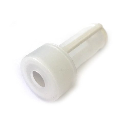 Water filter for hose end - 260 micron 8mm hole - White