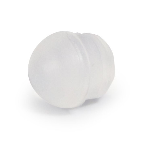 Mushroom Shaped Valve Seal - OD 7mm x 6mm - H 8mm - SILICONE