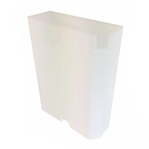 Water tank / container - 195x70x272 mm - Plastic - ECM / ISOMAC / ROCKET