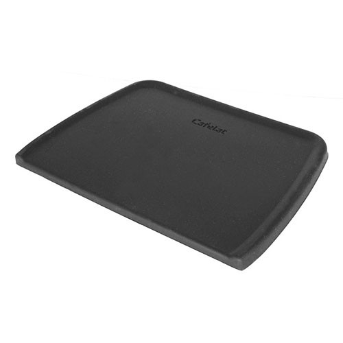 CAFELAT Coffee Tamping Mat - Silicone Rubber - FLAT - BLACK
