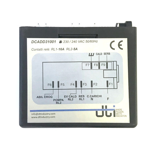 Control Box - Water Level Auto-fill Regulator - 230Vac - RL30 Micro ST DTI