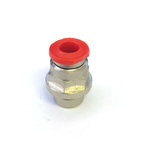 Boiler top fitting 5mm press-fit - 6x0.75 mm Female - Hole OD 9.5 mm