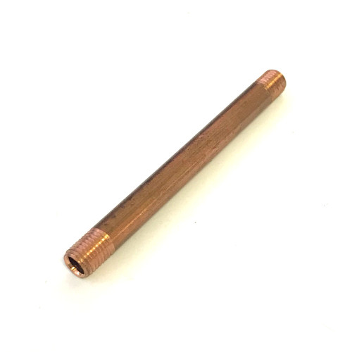 Copper HX Pipe 6x63.5 mm - 6x0.75 mm Male Thread