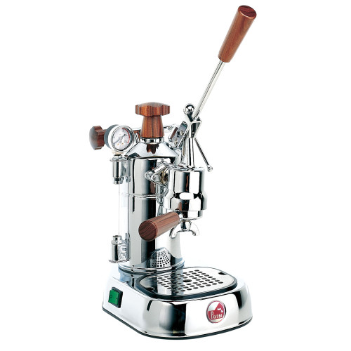 LA PAVONI EUROPICCOLA PROFESSIONAL Lever 1.6L Espresso Coffee Machine - Wood Handles