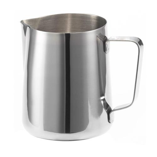 Milk Steaming / Frothing Jug - Stainless Steel - with Spout - 350mL