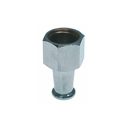 "Single Straight Long Spout for Filter Holder 3/8"" BSPF"
