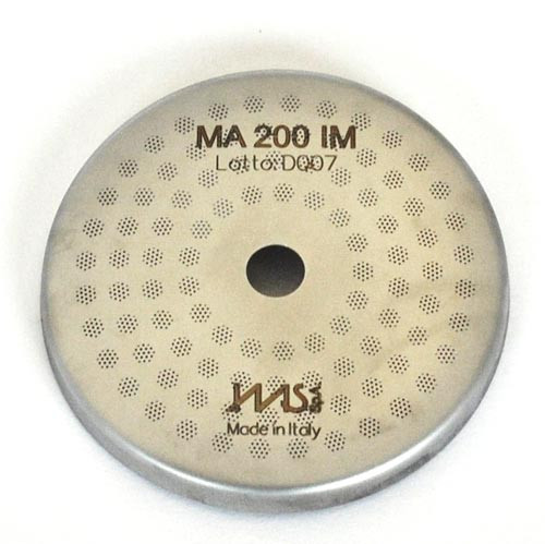 Precision shower screen MARZOCCO - IMS MA200IM - OD56.4 mm 98x3 mm holes 200 µm membrane