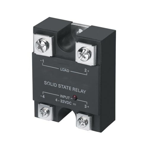 Solid State Relay (SSR) Electric - Load 25A 250 VAC - Input 4-32 VDC
