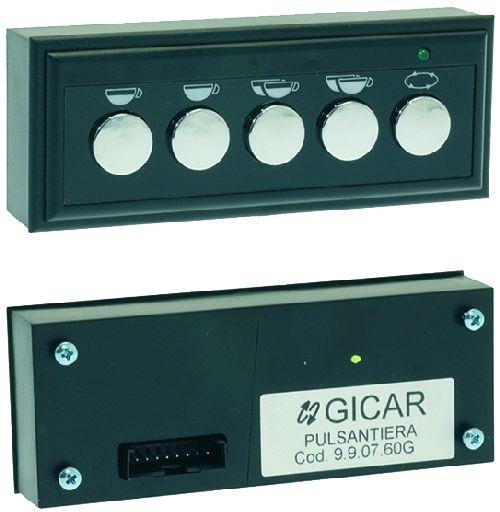Touchpad - 5 Button - GICAR 9.9.07.60G - VIBIEMME ELETPUL1LEDAL