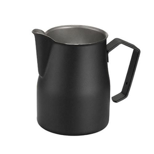 Motta Europa 350ml Milk Steaming Jug / Pitcher Black
