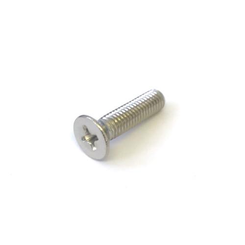 Screw M5x20 mm - Convex Head CROSS Countersunk - Stainless Steel