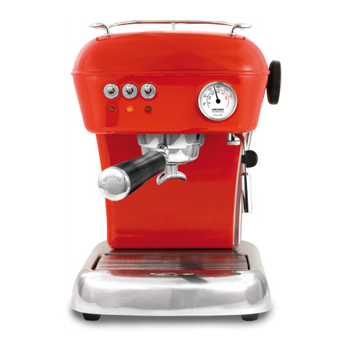 ASCASO Dream Espresso Coffee Machine Gloss Red